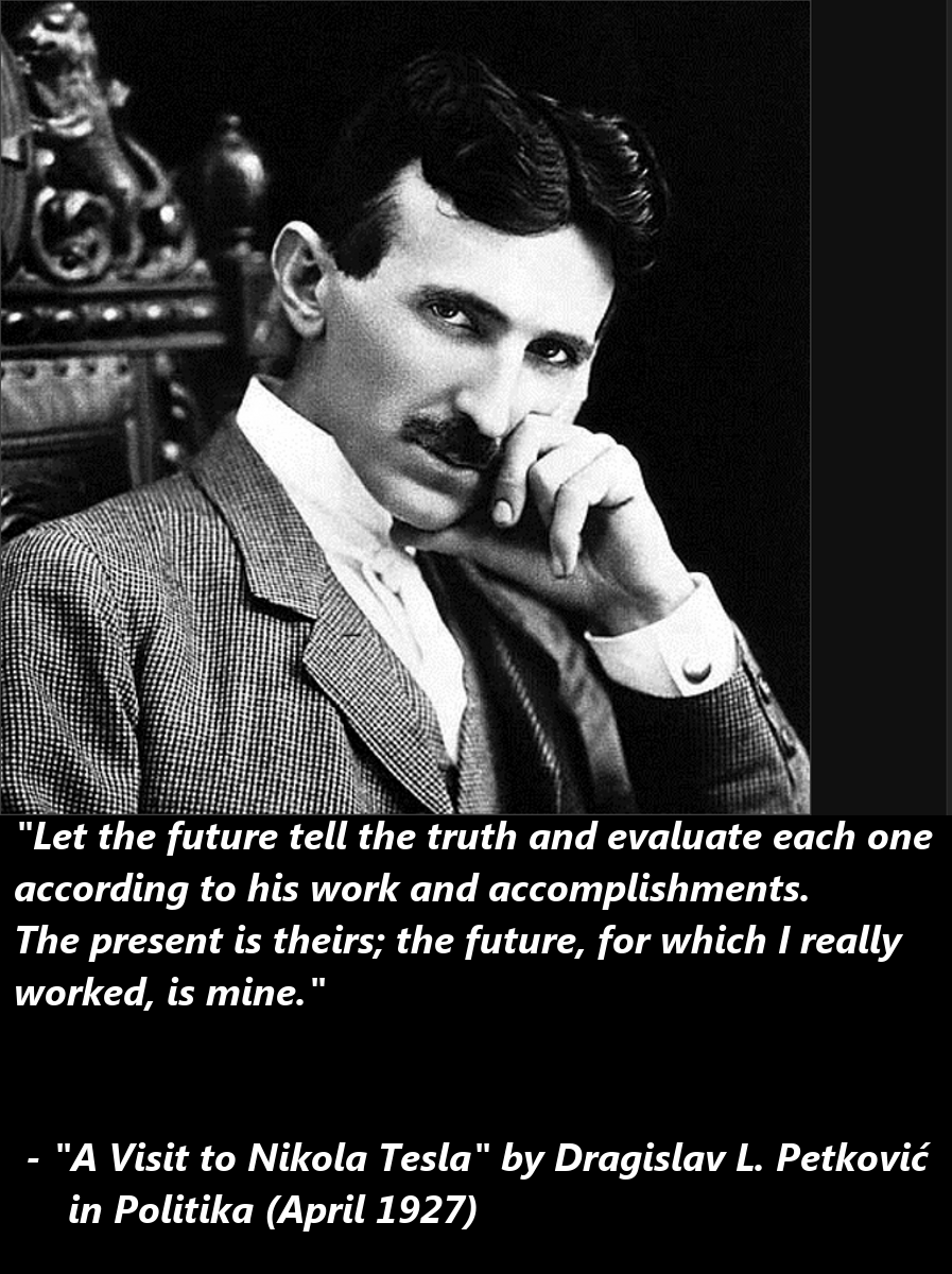 the life and contributions to science of nikola tesla In this penetrating study of the life and mind of a scientific superman, nikola tesla is revealed as a figure of genius whose influence upon the world around us is incalculable, and whose shadow stretches far into the future.